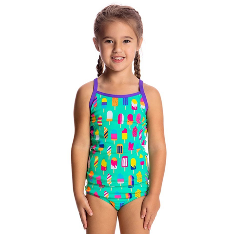 FUNKITA - Toddler Girls Tankini & Brief Popsicle Parade - Sharks Swim Shop