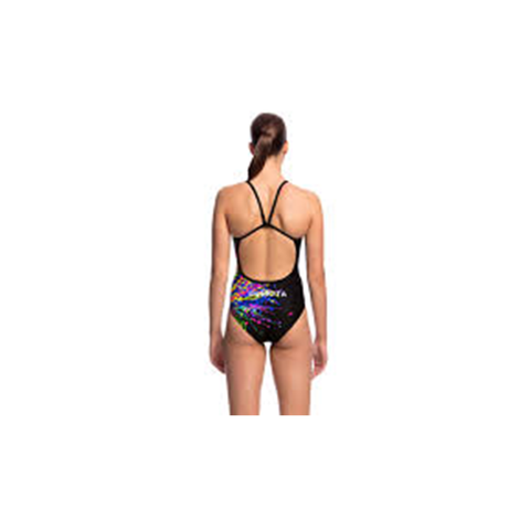 FUNKITA - Ladies Single Strap One Piece Wing Attack - Sharks Swim Shop