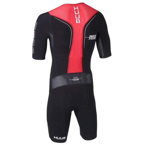 HUUB - Dave Scott Tri Suit Sleeved - Black/Red - Sharks Swim Shop