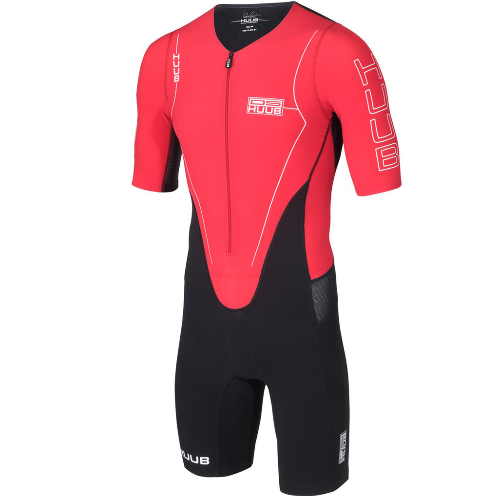 HUUB - Dave Scott Tri Suit Sleeved - Black/Red