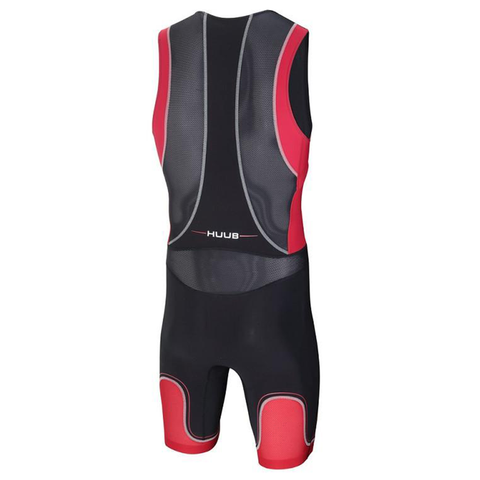 HUUB - Core Tri Suit Black/Red - Sharks Swim Shop