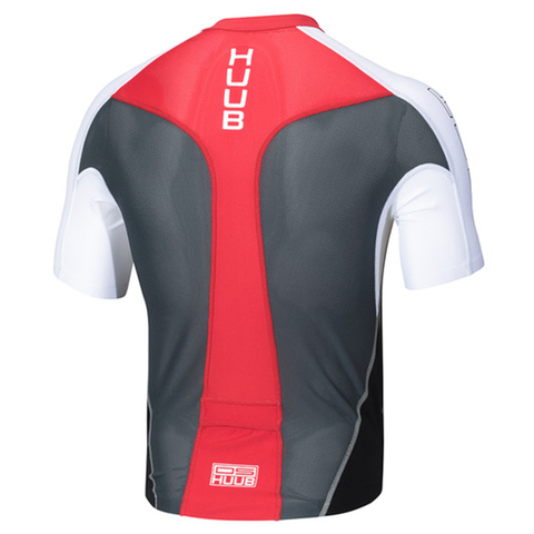 HUUB - Dave Scott Long Course Tri Top Black/Grey - Sharks Swim Shop