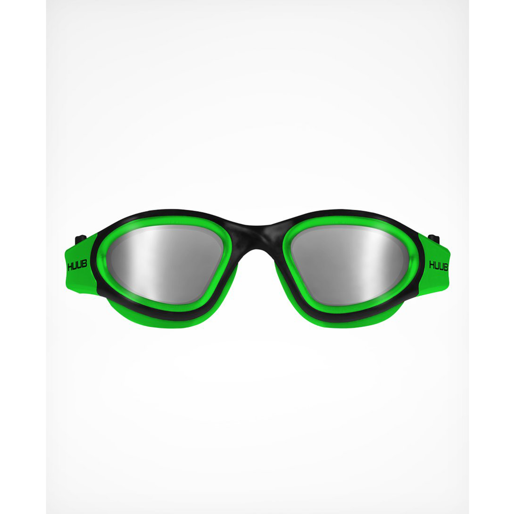 HUUB APHOTIC SWIM GOGGLE - Green Polarised Mirror