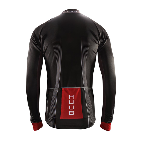HUUB - Core Long Sleeve Cycle Thermal Jersey/Black - Sharks Swim Shop