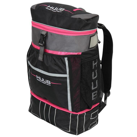 HUUB - Transition Racksack (Black & Pink) - Sharks Swim Shop