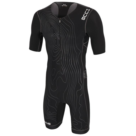 HUUB - Norseman LC Tri Suit Black - Sharks Swim Shop