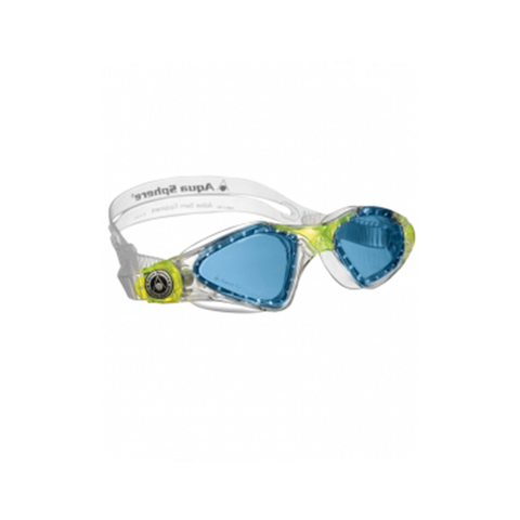 Aqua Sphere - Kayenne Junior Swim Goggles Neon Yellow/Blue Lense