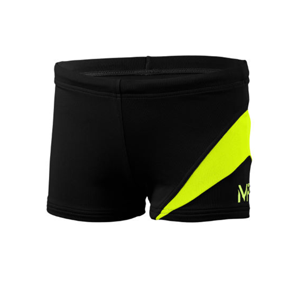 Michael Phelps - Boys Trunk Lony Black/Bright Yellow