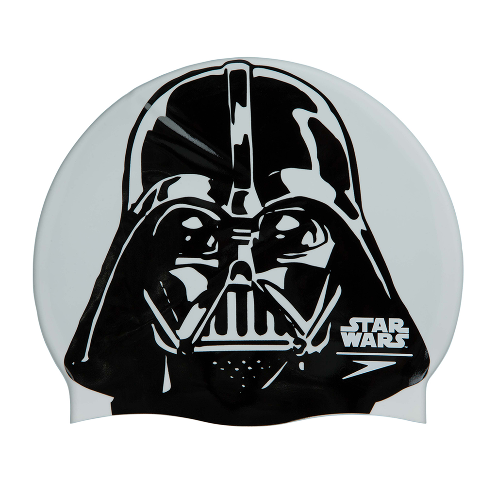Speedo - Swim Cap Darth Vader Starwars Black