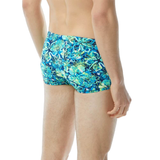 TYR - Mens Trunk Malibu Allover Turquoise