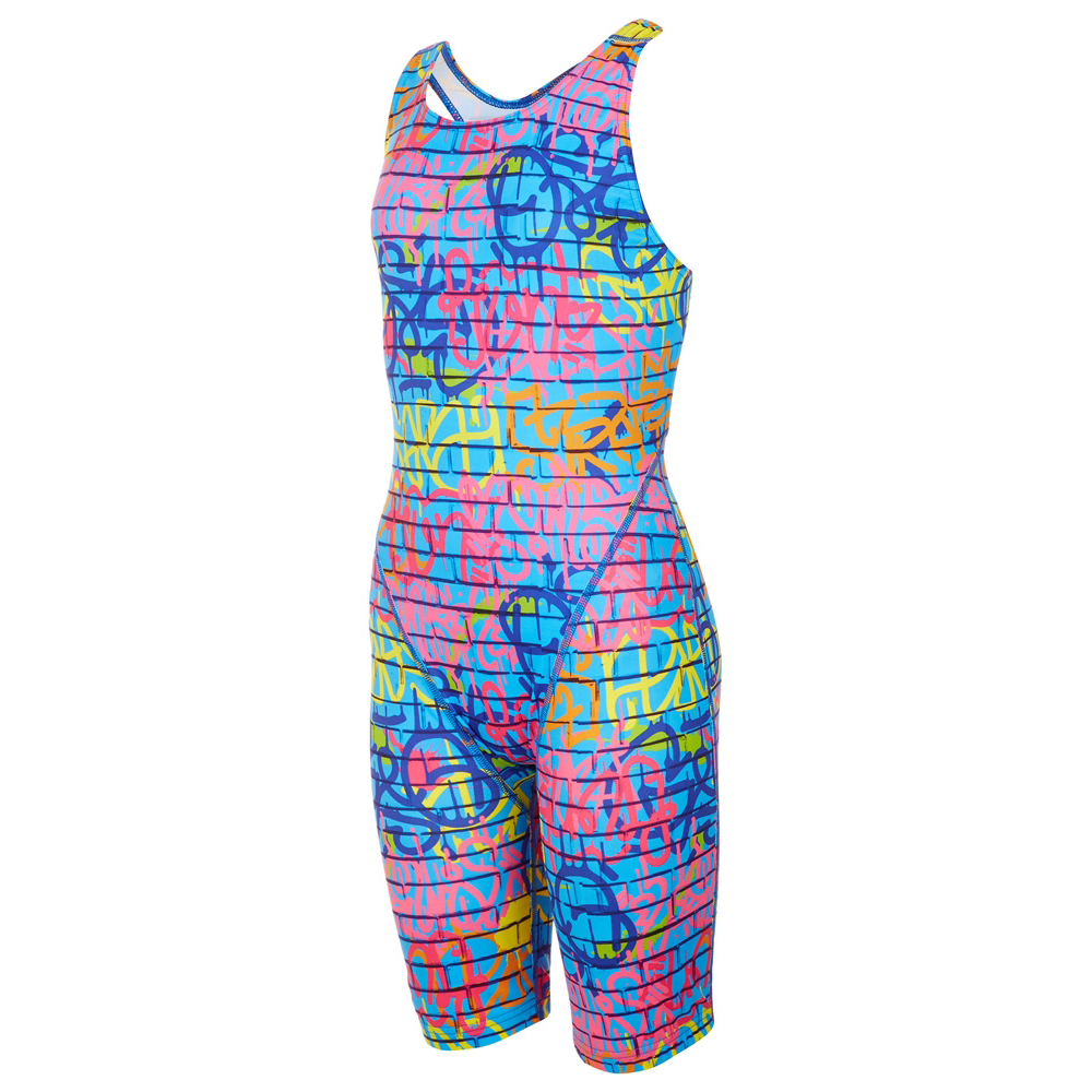 Maru - Street Art Pacer Legsuit Blue/Multi