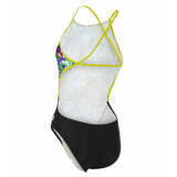 Michael Phelps - Womens Dale Open Back L Multicolour Yellow