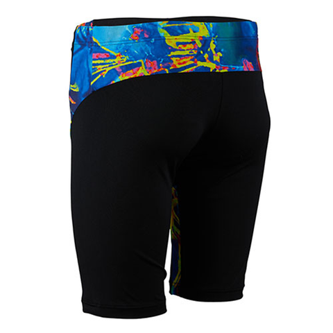 Michael Phelps - Mens & Boys Fusion Jammer Multicolour Black