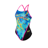 Michael Phelps - Womens Racerback L Multicolour Black