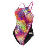 Michael Phelps - Womens  Kiraly Race Back L Multicolour Black
