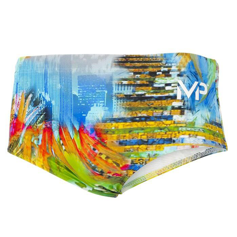 Michael Phelps - Selaron Brief L Black Yellow - Sharks Swim Shop