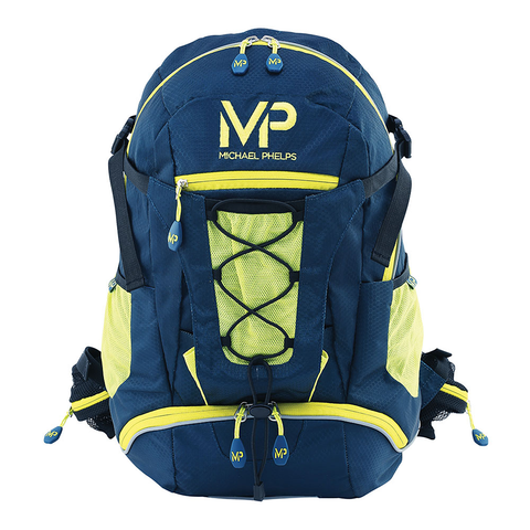Michael Phelps - Team Backpack Navy/Neon - Sharks Swim Shop