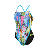 Michael Phelps - Womens Tropic Racer Back L Multicolour Black