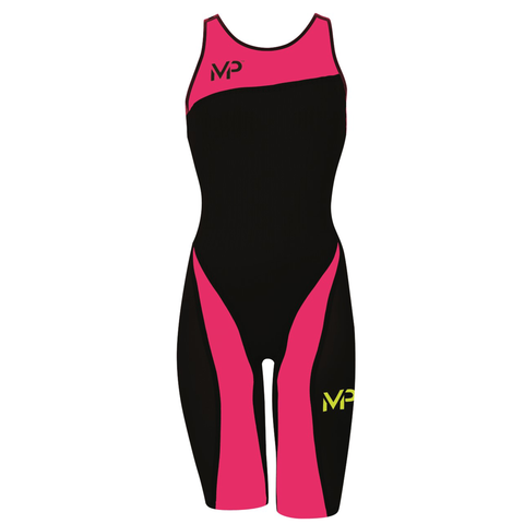 Michael Phelps - X Presso Womens Black/Bright Pink - Sharks Swim Shop