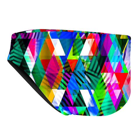 Michael Phelps - Zuglo Brief L Multicolour - Sharks Swim Shop