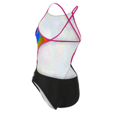 Michael Phelps - Womens  Zuglo Open Back L Multicolour Black