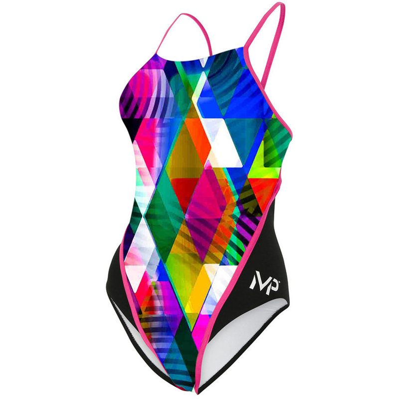 Michael Phelps - Womens  Zuglo Race Back L Multicolour Black