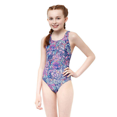 Maru - Girls Secret Garden Auto Back-Pink - Sharks Swim Shop