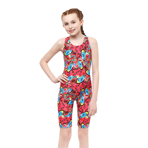 Maru - Bounce Pacer Legsuit Pink - Sharks Swim Shop