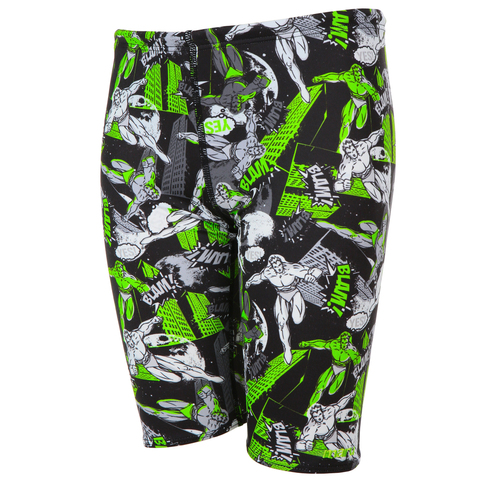 Maru - Boys Superslam Pacer Jammer - Green - Sharks Swim Shop