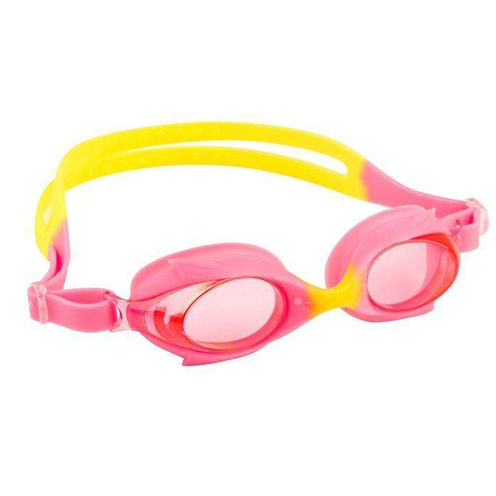 Maru - Dolphin Anti Fog Junior Goggles Pink/Yellow