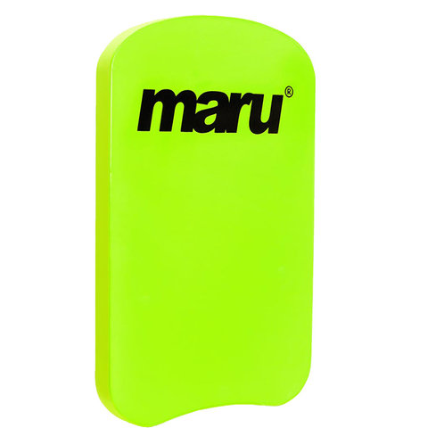 Maru - Neon Green Kick Board - Sharks Swim Shop