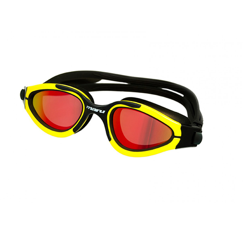 Maru - Groove Goggles - Black & Yellow - Sharks Swim Shop