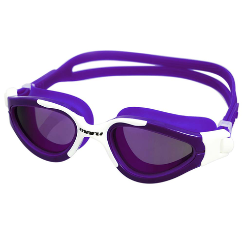 Maru - Groove Goggles - Purple & White - Sharks Swim Shop
