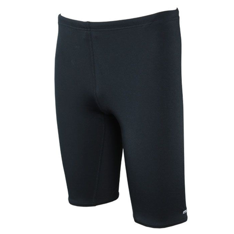 MARU - Boys Solid Pacer Jammer Black - Sharks Swim Shop