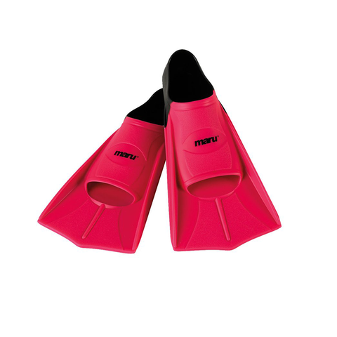 Maru Training Fins - Pink & Black - Sharks Swim Shop