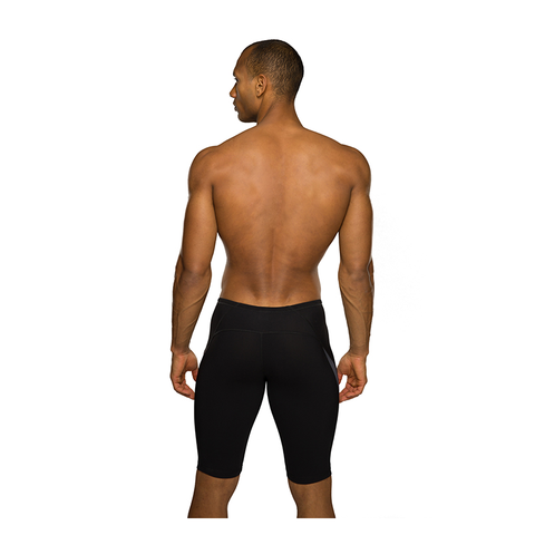 Maru - Mens Pulse Performance Jammer Black - Sharks Swim Shop