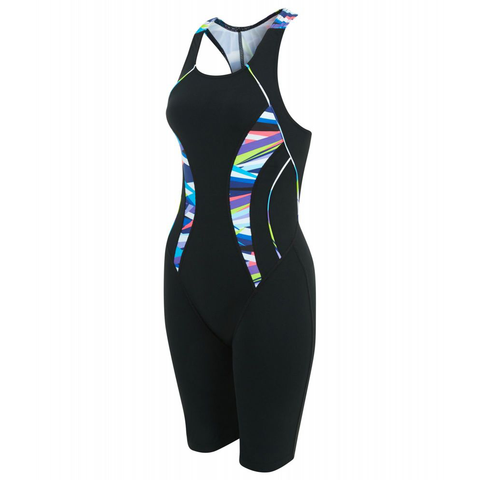 Maru - Womens Its a Wrap Pacer Legsuit Black/Multi