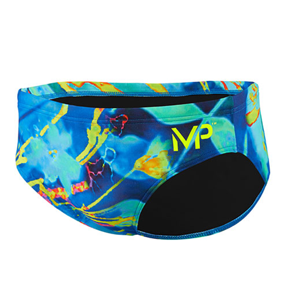 Michael Phelps - Mens Brief  Fusion Slip 6.5cm Multi