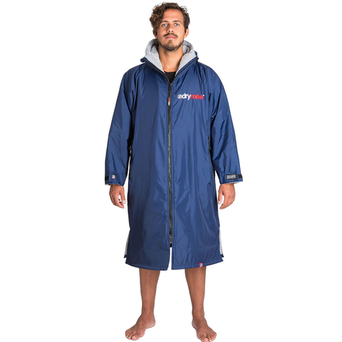 DRYROBE ADVANCE - Long Sleeve Navy & Grey