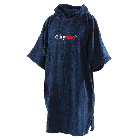 DRYROBE - SHORT SLEEVE TOWEL Navy Blue - Sharks Swim Shop