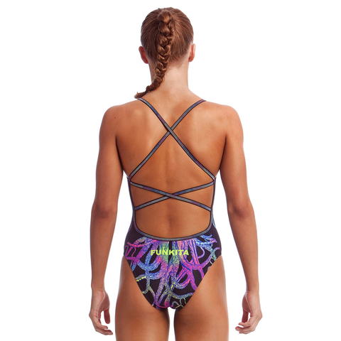 Funkita - Strapped in One Piece Ladies Swim Costume