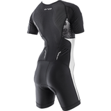 Orca - Womens Core Short Sleeved  Racesuit Black/White