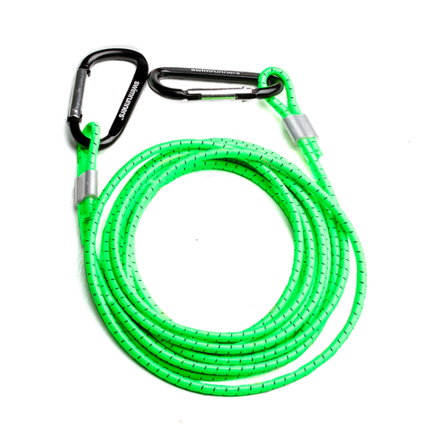 Orca - Swim Run Bungee Cord & 2 Belts (Green) - Sharks Swim Shop