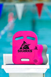 Sharks -  Pull Buoy Pink/Grey