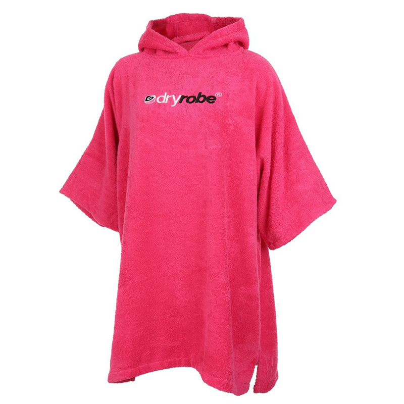 DRYROBE - SHORT SLEEVE TOWEL Pink