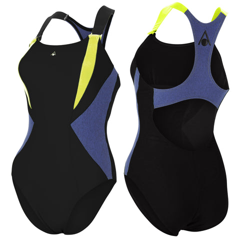 Aqua Sphere - Siskin Black/Chine Blue - Sharks Swim Shop