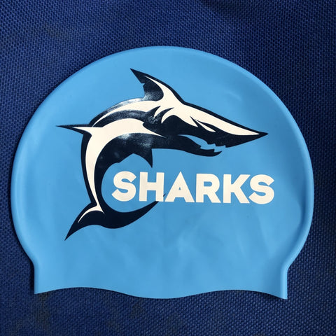 Sharks - Swim Cap