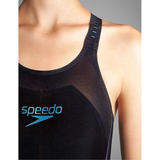 Speedo - Womens Lazer Racer X Openback Black/Blue