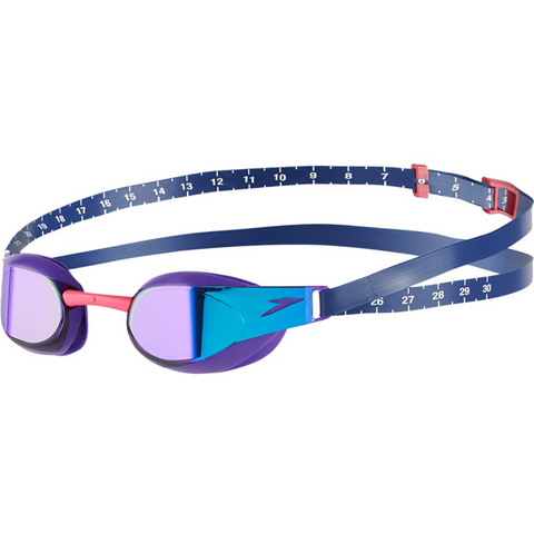 Speedo - Goggles Racing Fastskin Elite Mirror Purple Blue