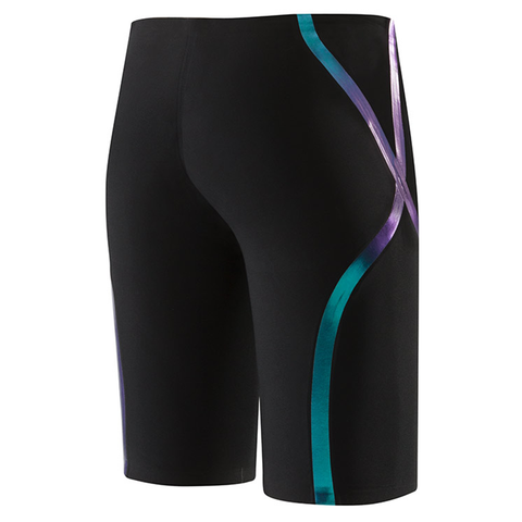 Speedo - Mens Lazor Racer X High Waisted Jammer Black/Blue